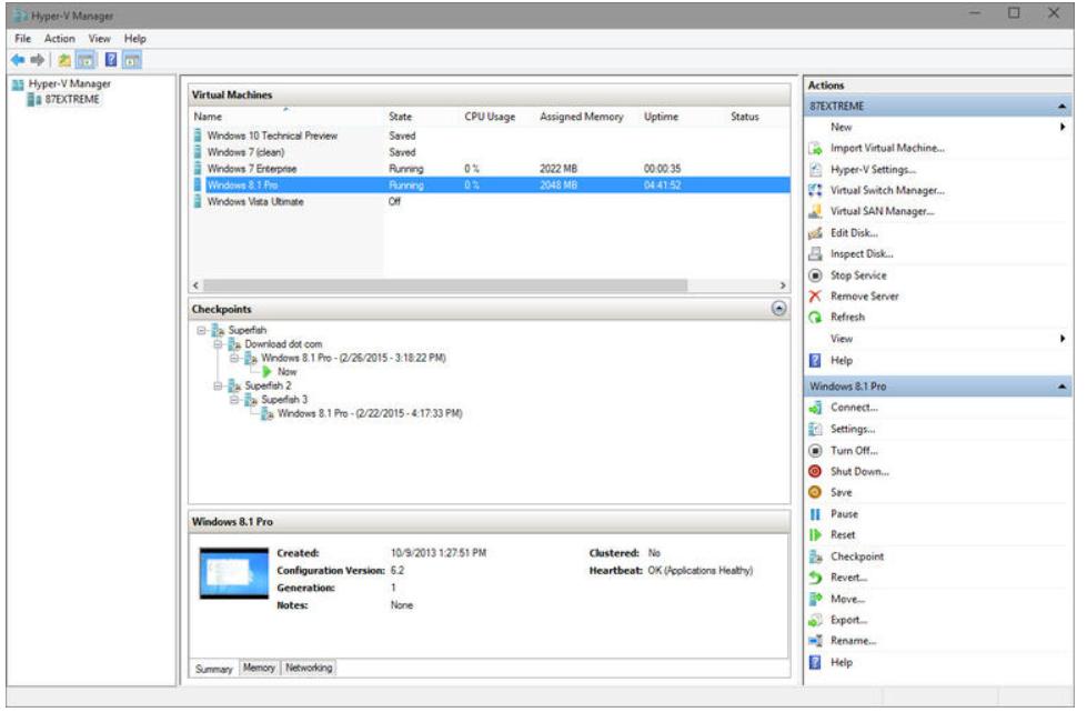 Hyper-V: Windows 10のキラー機能になる?-1