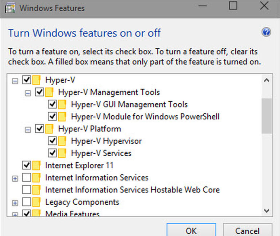 Hyper-V: Windows 10のキラー機能になる?-2