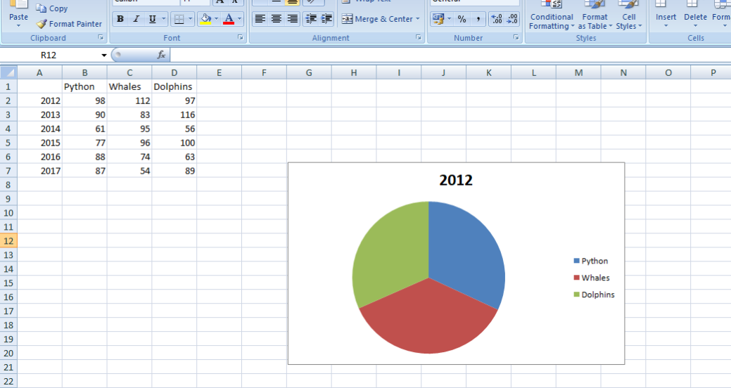 違うバージョンのMicrosoft Excel-2010と 2013 と2016 と 2019を比較します-2
