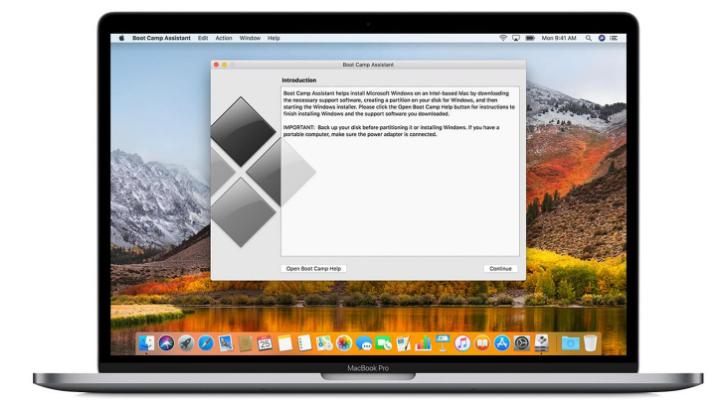 MacにWindows 10をインストールします。こちらのオップションは選択できます-2