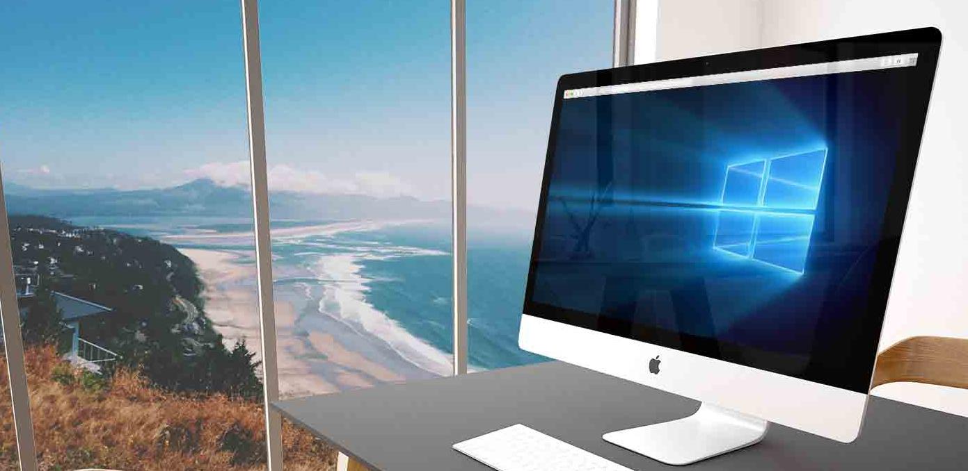 MacにWindows 10をインストールします。こちらのオップションは選択できます-1